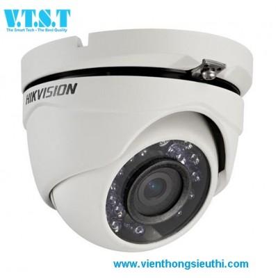Camera HD-TVI Dome hồng ngoại 1.0 Megapixel HIKVISION DS-2CE56C0T-IRM