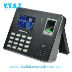 Thiết bị chấm công bằng vân tay và thẻ RIFD H8